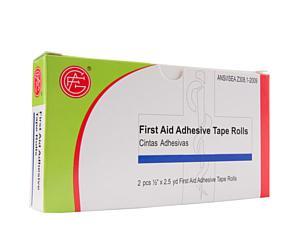 Adhesive Tape Rolls, 0.5 x 2.5 yds, 2pcs