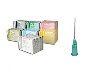 """Hypodermic Needles 21G X 1"""" , Box/100"""