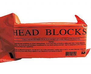 Disposable Foam Head Blocks w/out Straps Pair