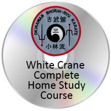 White Crane Certification Course on DVD