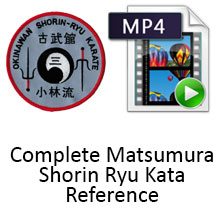 Digital Download - Complete Matsumura Shorin Ryu Kata