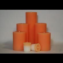 6 Inch Peach Pillar