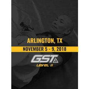 Level 2 Full Certification: Arlington, TX (November 5-8, 2018)